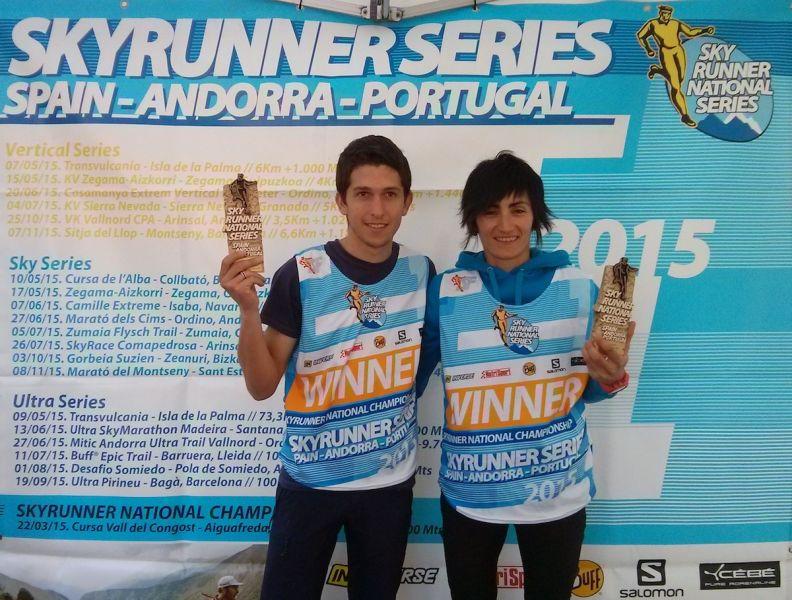Manuel Merillas y Oihana Kortazar ganan en la Marat� del Montseny y arrasan en las Sky Series
