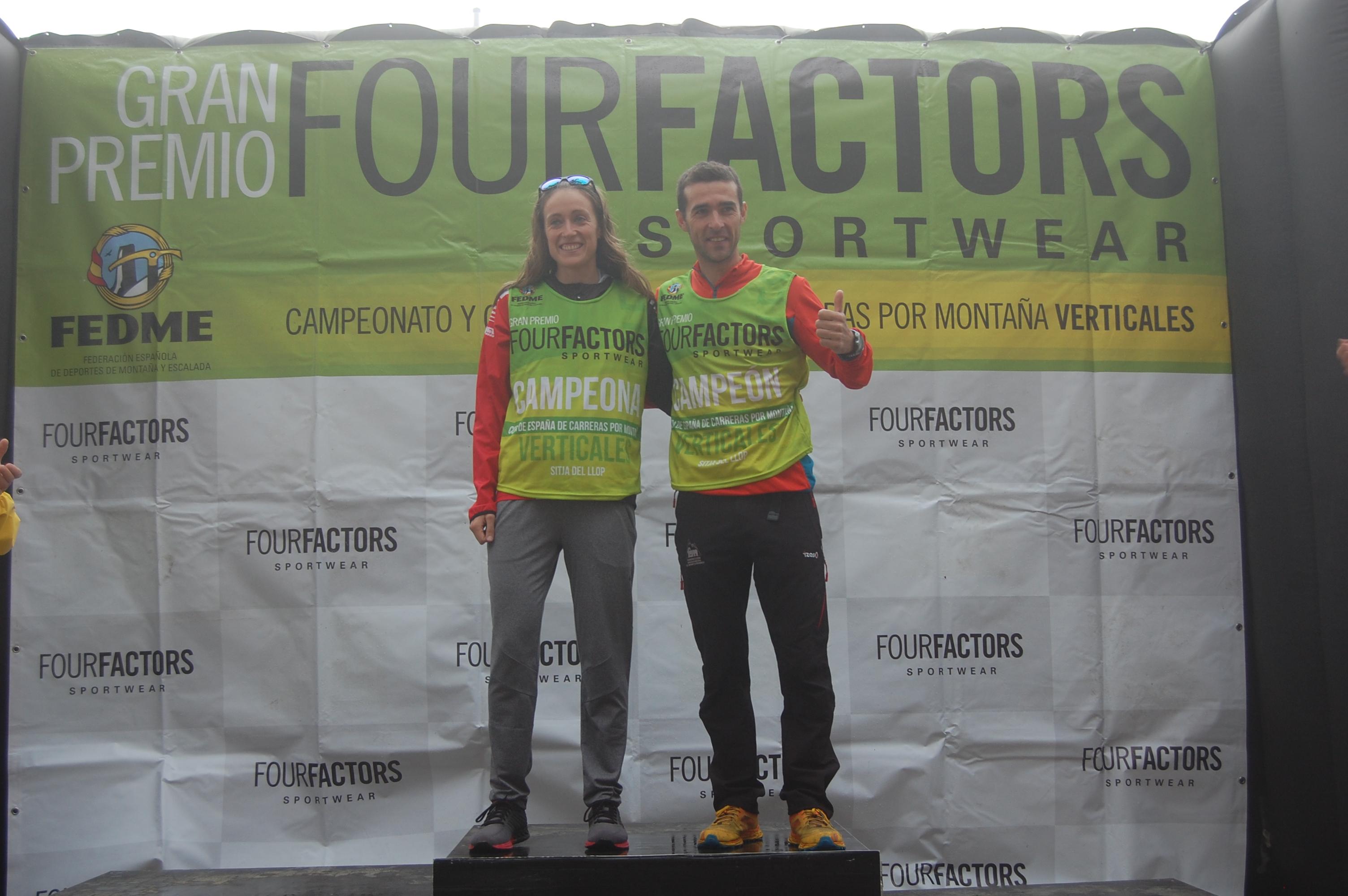 Kiko Navarro y Virginia Pérez se proclaman Campeones de la Copa de España de Carreras por Montaña Verticales - GP Four Factors en la Sitja del Llop