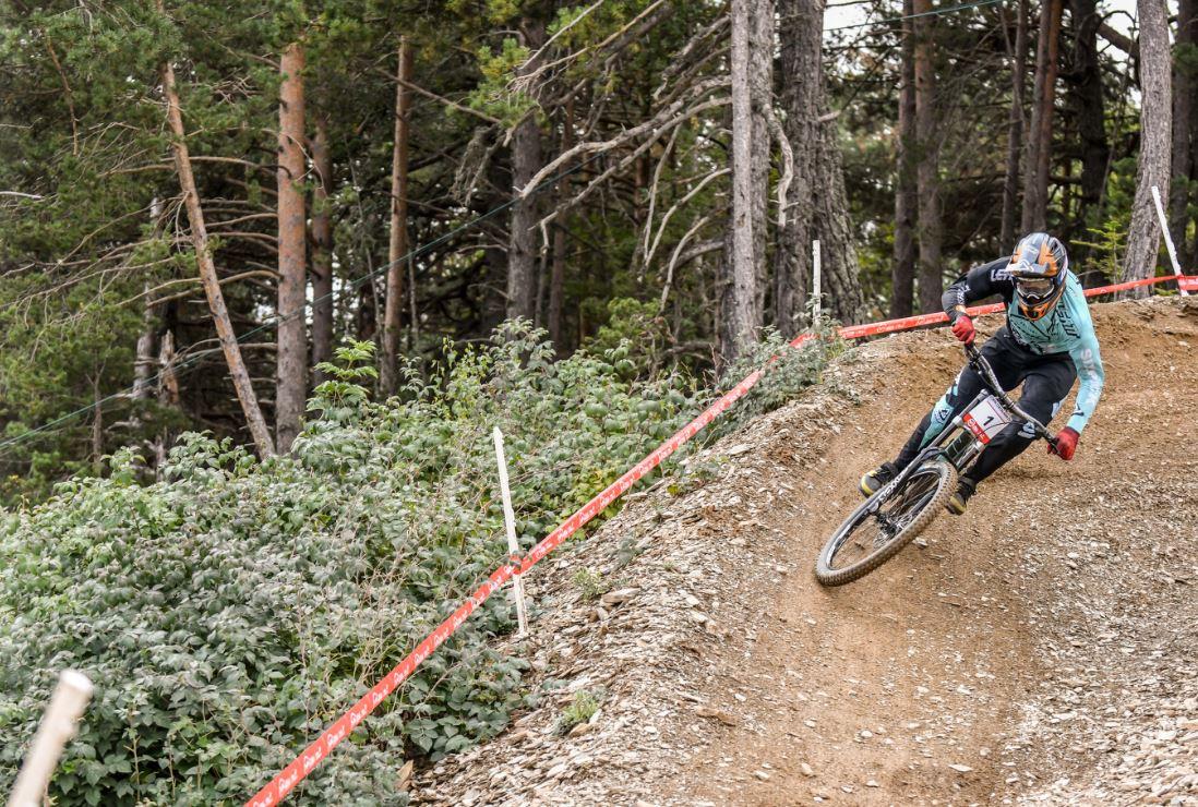 Rudy Cabirou hace valer su condición de favorito en Vallnord –Pal Arinsal, en Andorra