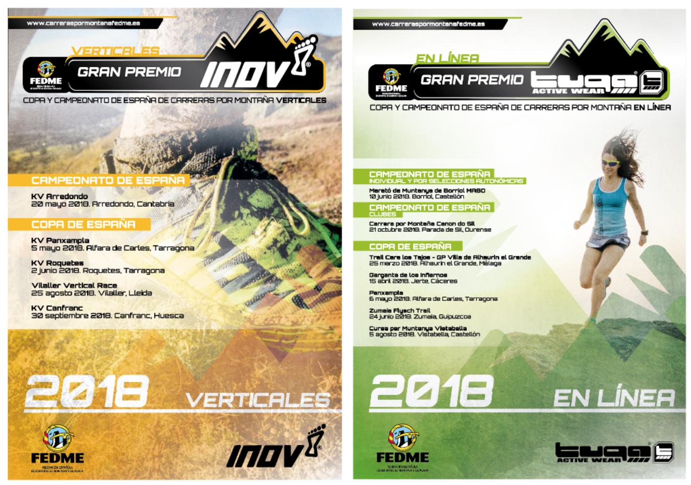 Presentación de los nuevos sponsors para las carreras por Montaña FEDME 2018