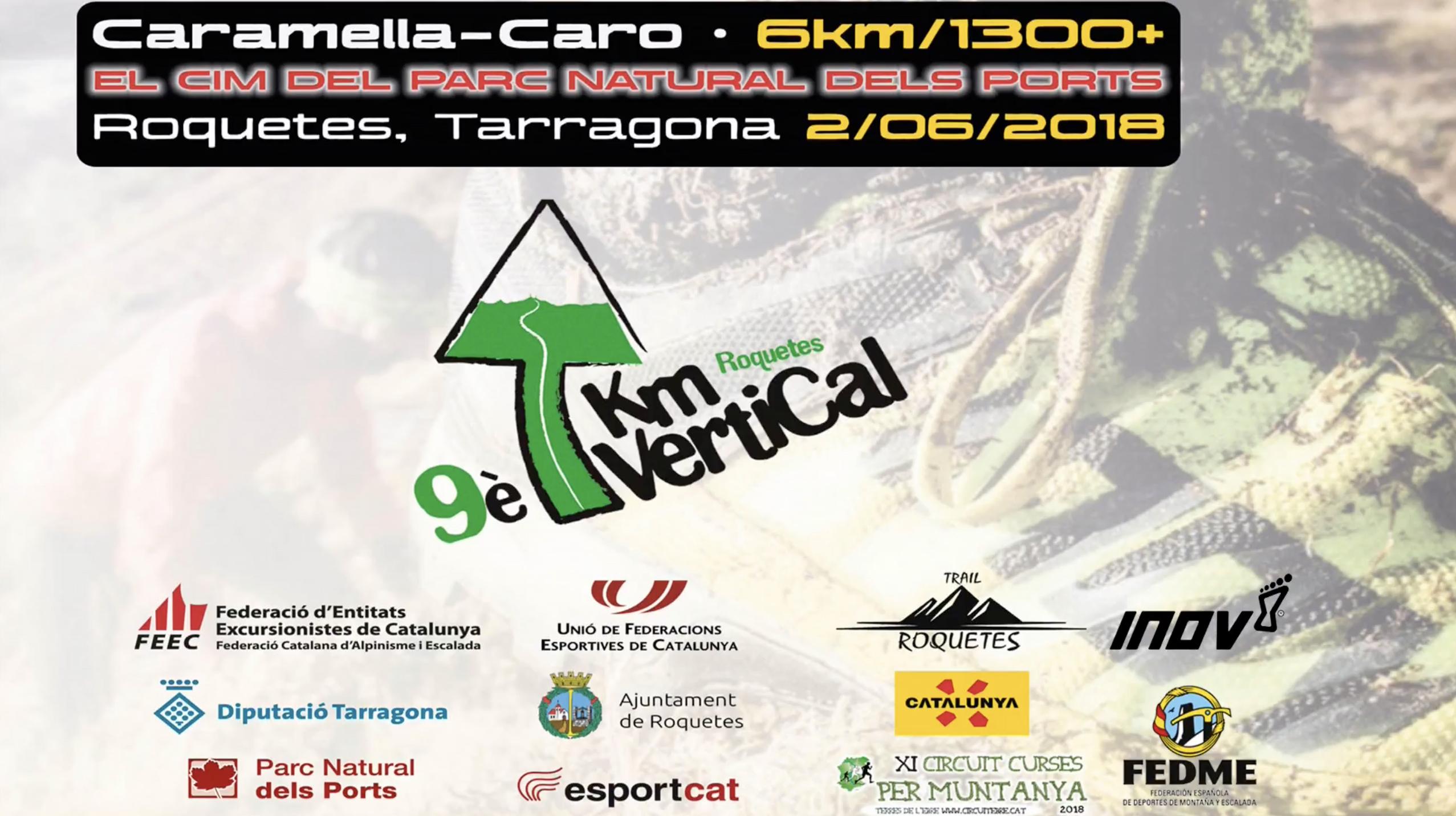 KV Roquetes, el Monte Caro como segunda parada de la Copa de España de Carreras por Montaña Verticales FEDME - Gran Premio Inov-8