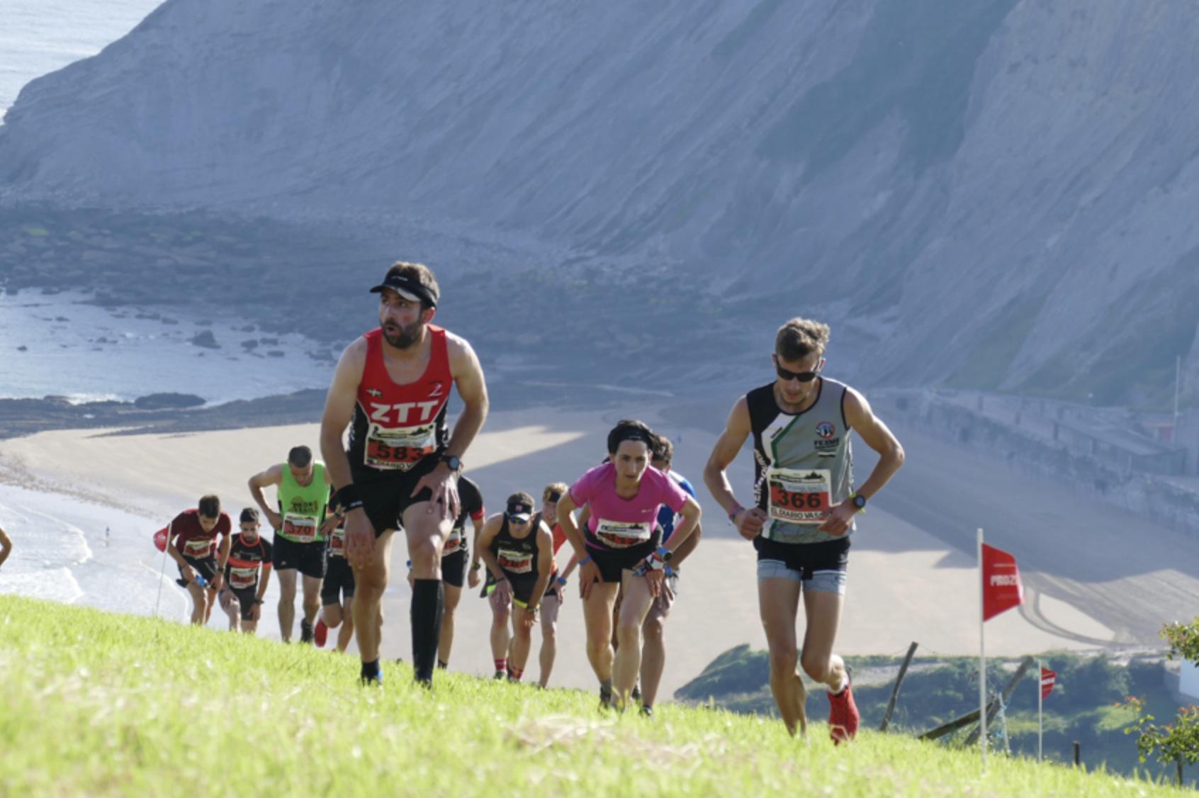 Los Flysch de Zumaia decidirán a los Campeones de la Copa de España de Carreras por Montaña en Línea FEDME –GP TUGA