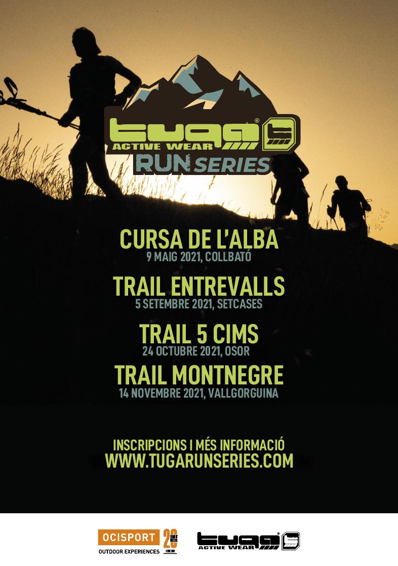 Quatre curses mítiques del calendari català s'apleguen aquest 2021 en el nou circuit Tuga Run Series