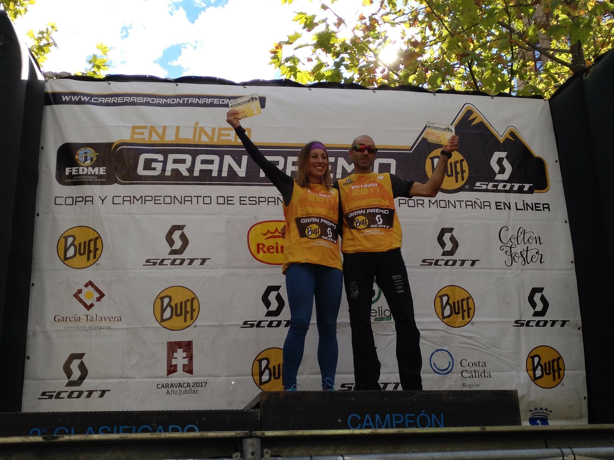 Santiago Mezquita y Eva Bernat se proclaman Campeones de la Copa de España de Carreras por Montaña en línea - Gran Premio BUFF®-SCOTT en la Caravaca T