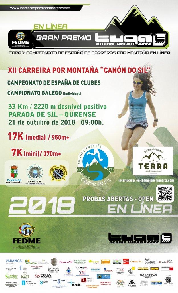 CANON DO SIL TANCA EL CIRCUIT DE LA COPA DE ESPAÑA AMB EL CAMPIONAT DE CLUBS EN LÍNEA FEDME - GRAN PREMIO TUGA