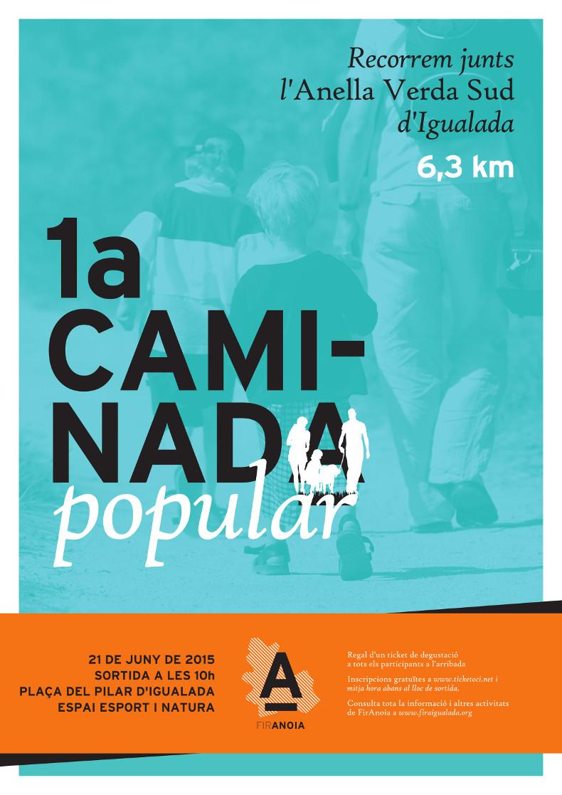 Esport i Natura, a FirAnoia amb diverses activitats a la plaça del Pilar i una caminada popular gratuïta