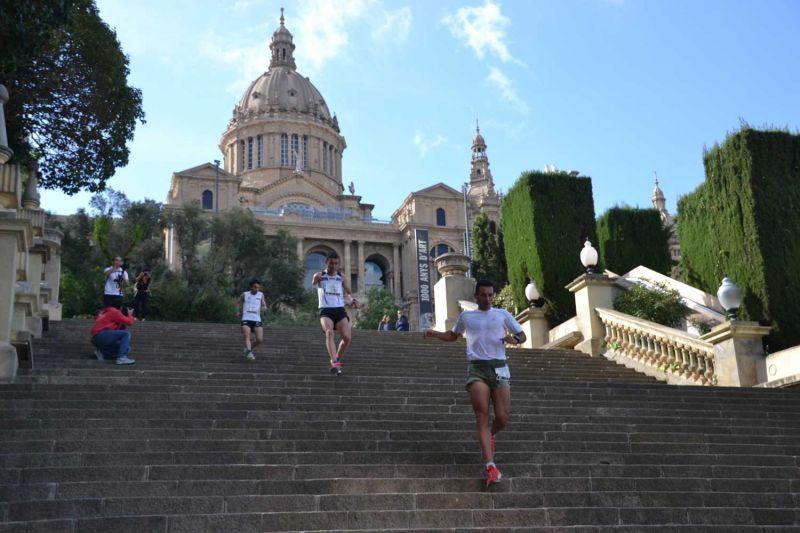�xito de la primera edici�n de la Barcelona City Trail con m�s de 800 participantes
