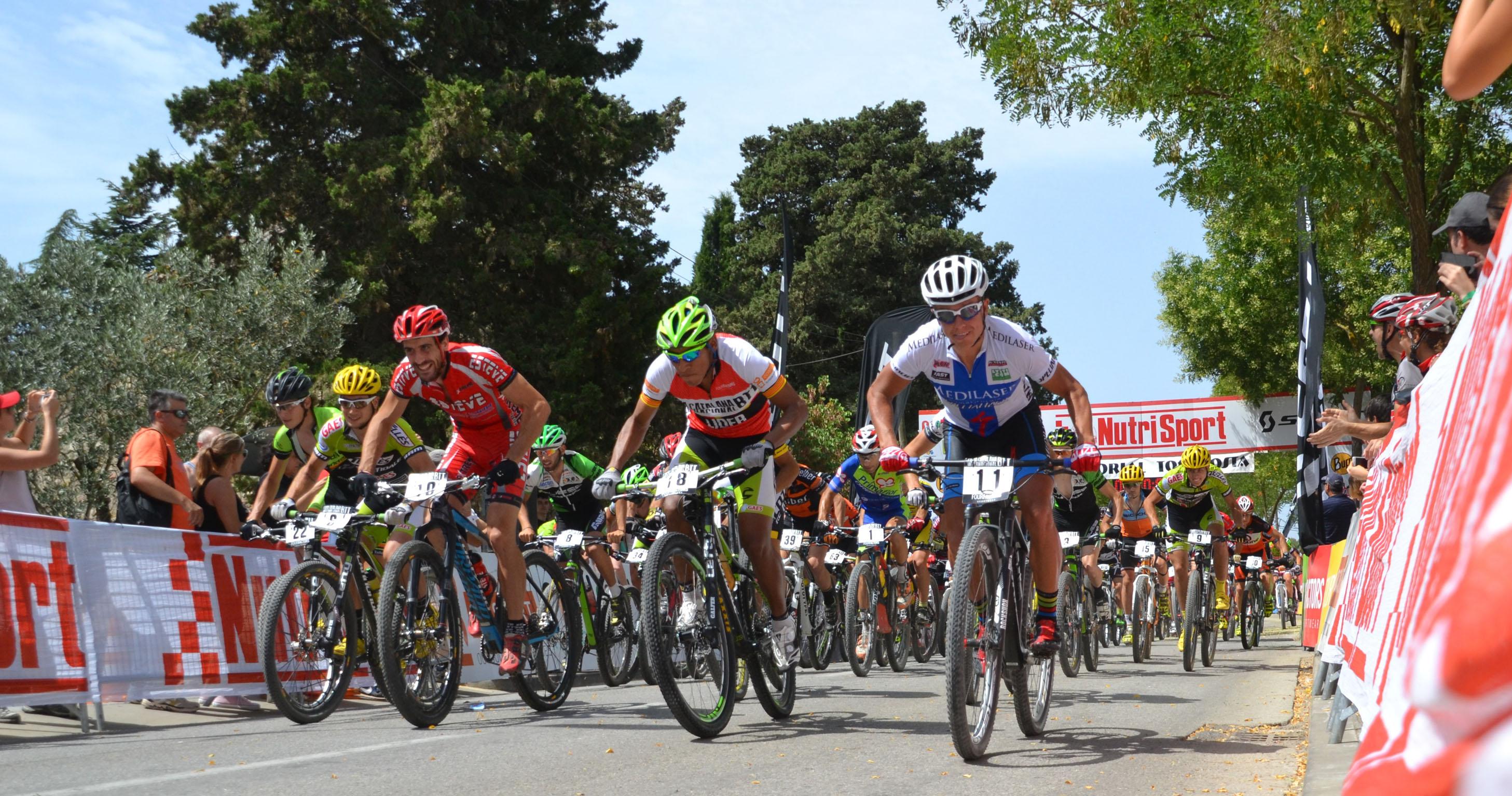 La Copa Catalana Internacional Biking Point de BTT es desplaça a Corró d'Amunt aquest cap de setmana