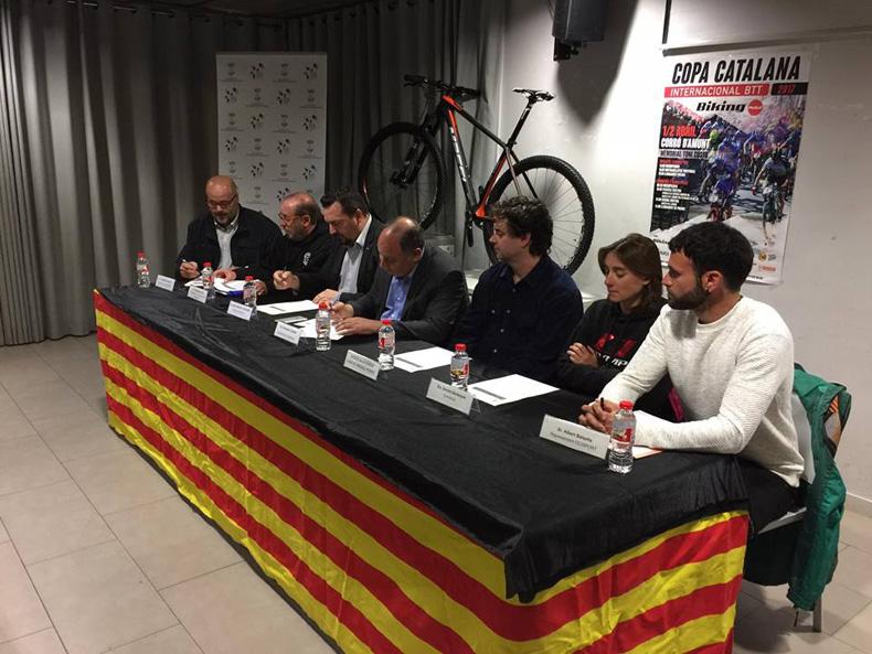 Presentada a Corró d'Amunt la tercera prova de laCopa Catalana Internacional BTT Biking Point
