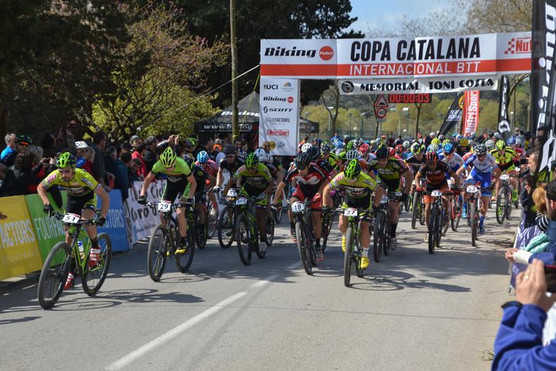 Corró d'Amunt inaugurarála temporada de contrarrelojes(CRI) enlaCopa Catalana Internacional BTT Biking Point