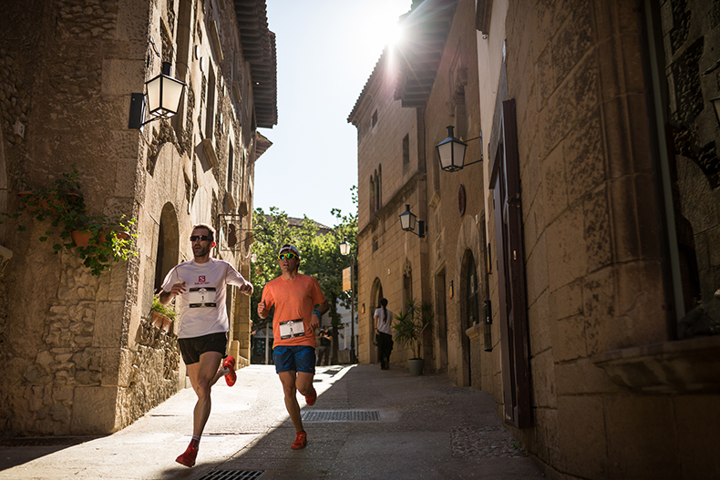 The Salomon Run will enter the Olympic Stadium and go back to �El Poble Espanyol�