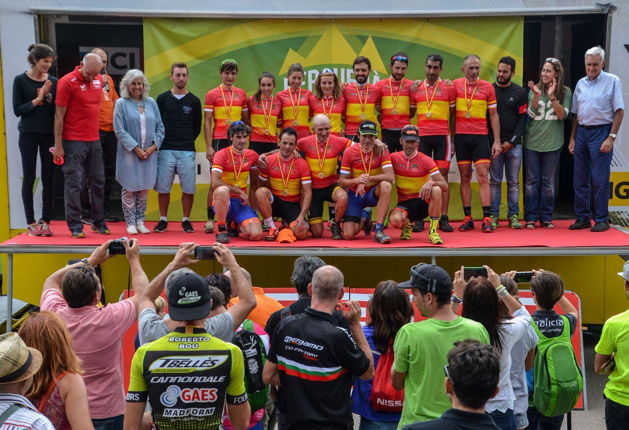 Paco Mancebo i María Díaz es proclamen Campions d'Espanya d'XCM a la Berguedà Bike Marathon