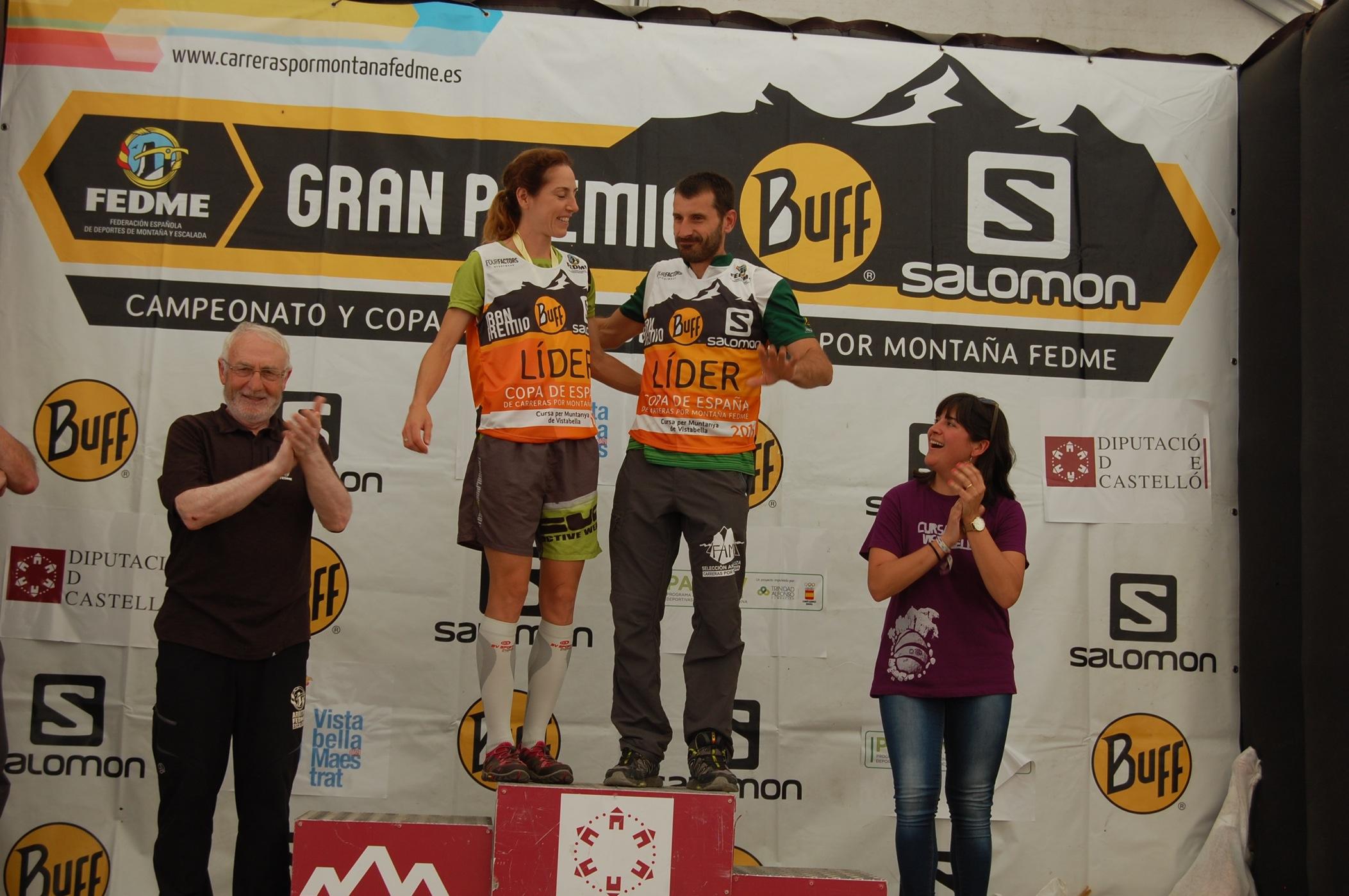 Cristóbal Adell y Ragna Debats se imponen en la Cursa de Muntanya de Vistabella de la Copa de España de Carreras por Montaña en Línea - Gran Premio BU