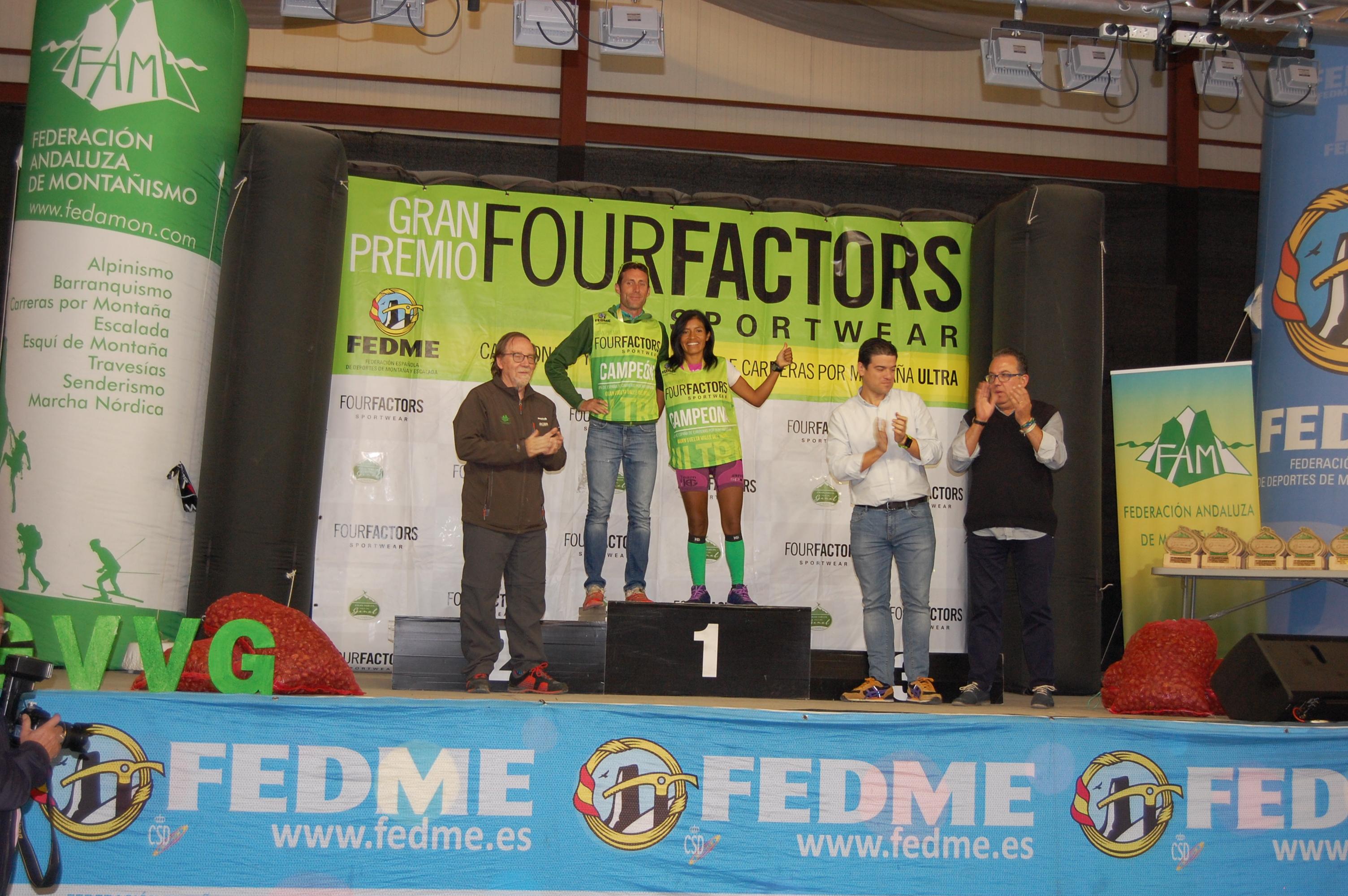 Daniel Amat y Mercedes Pila se proclaman Campeones de la Copa de España de Carreras por Montaña Ultra - GP Four Factors en la Gran Vuelta Valle del Ge