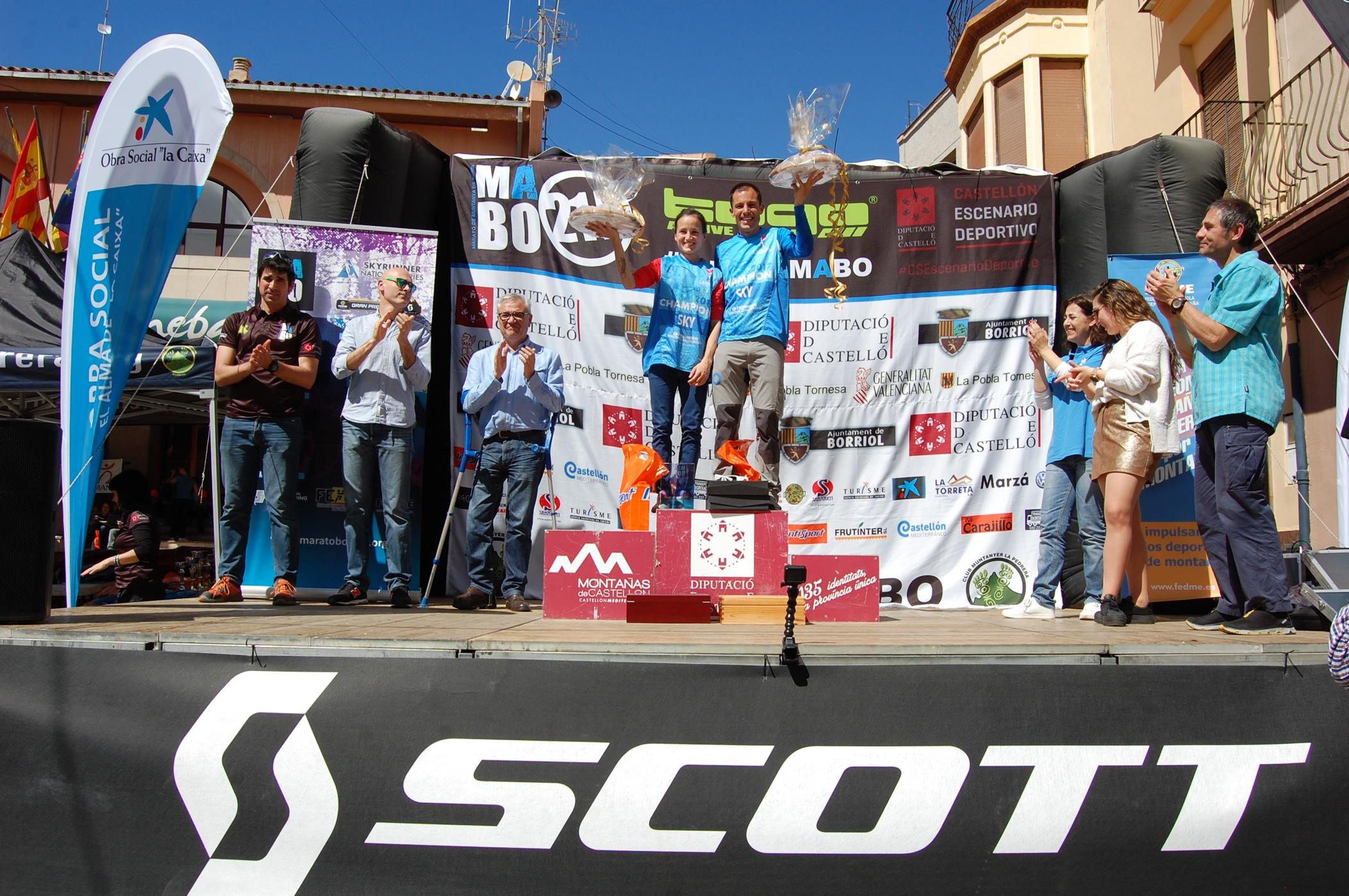Dani Garc�a y Eli Gord�n se apuntan el Skyrunning National Championship Skymarathon en la Marat� de Muntanya de Borriol