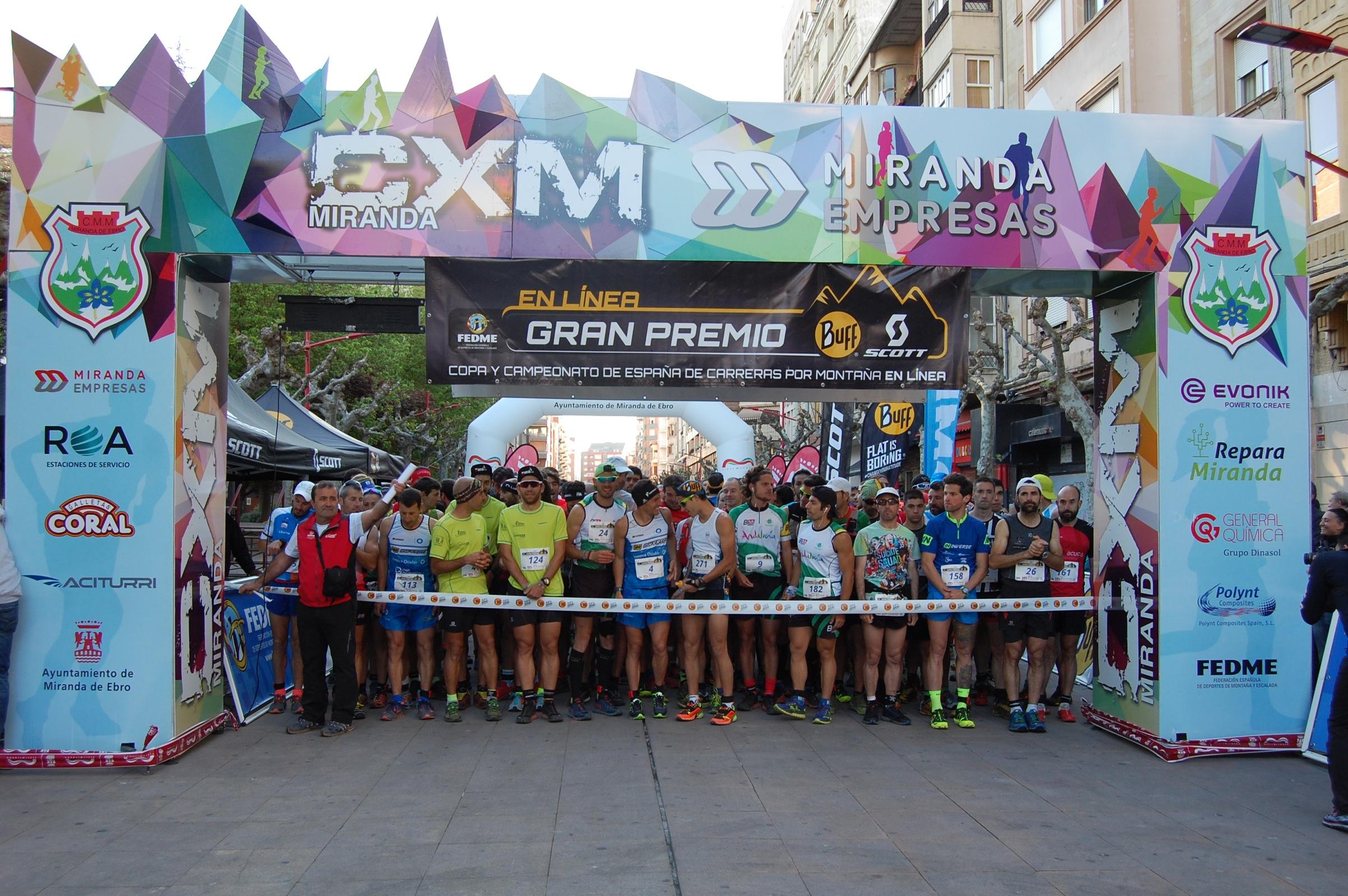 Mario Olmedo y Eva Bernat vencen en la CXM Miranda de Ebro de la Copa de España de Carreras por Montaña en Línea FEDME - Gran Premio BUFF® SCOTT