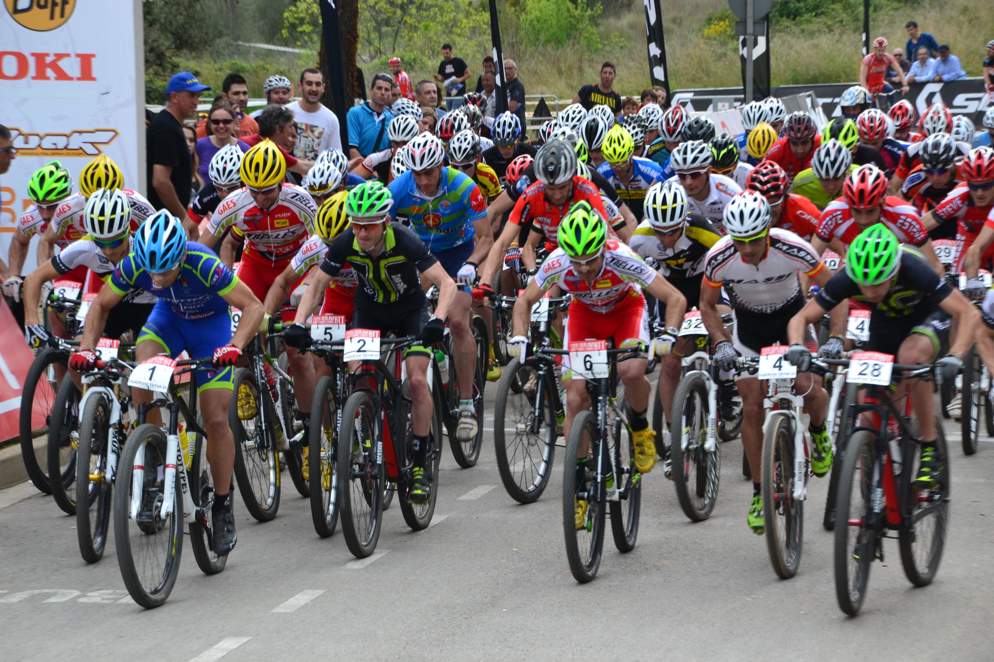 Pen�ltima cita de la Copa Catalana Internacional de BTT Biking Point en Igualada
