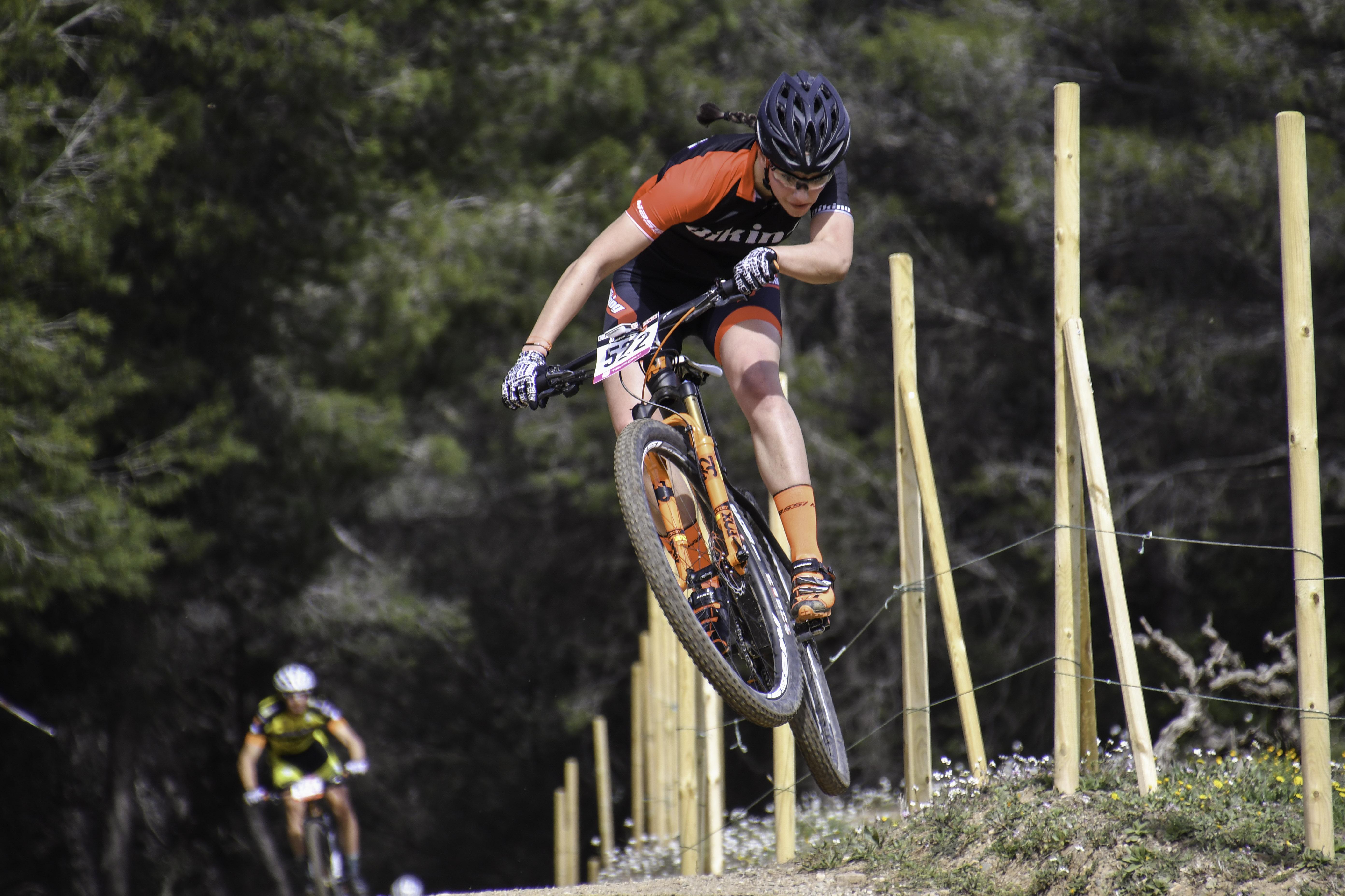 Corró d'Amunt viu una altra festa del XCO amb la Catalana Internacional Biking Point
