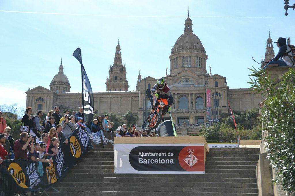 El BUFF® Down Urban Barcelona reunirà als millors descenders del món el 3 d'abril