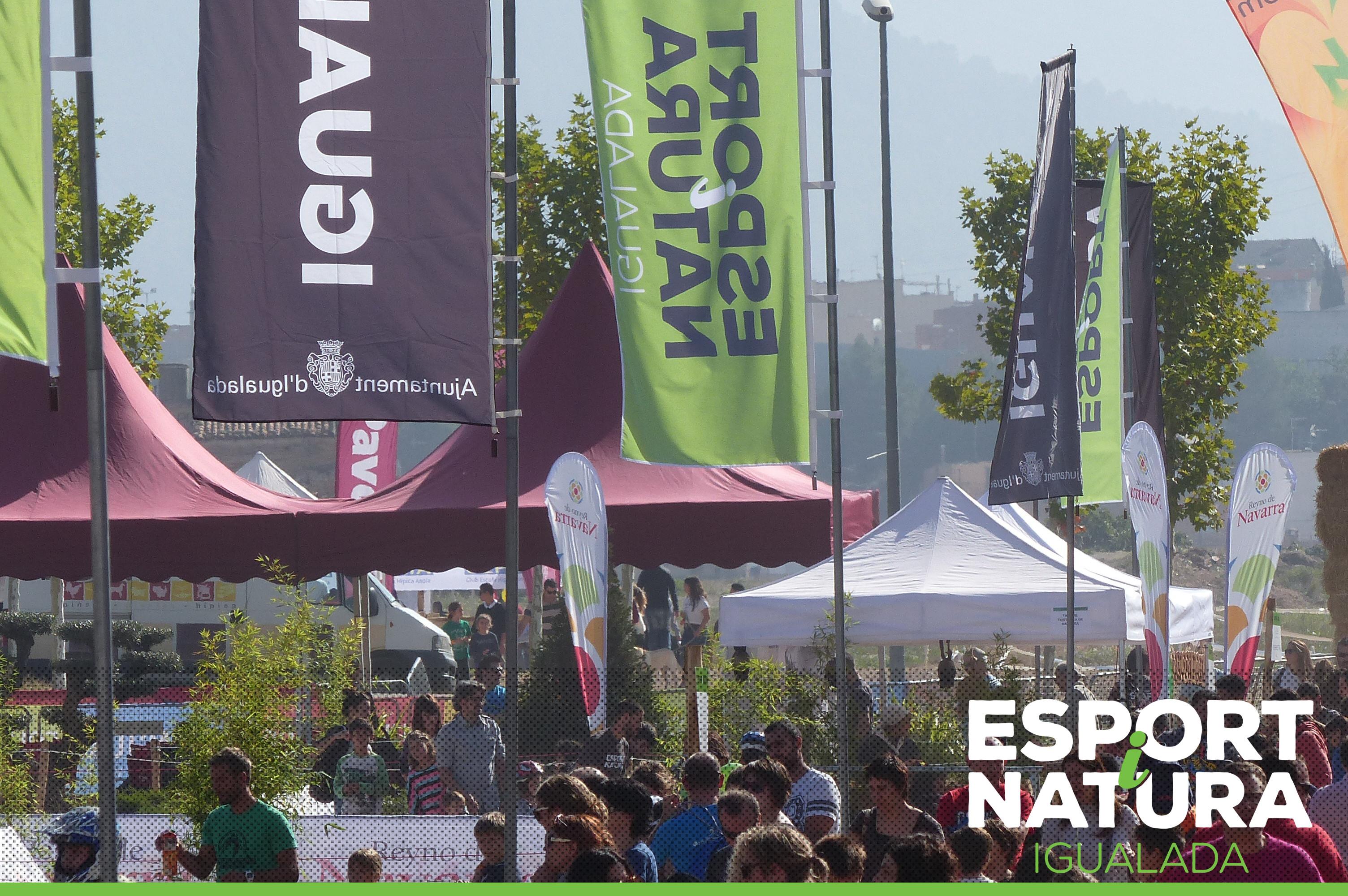 El públic respon massivament a la segona edició de l'Esport i Natura Igualada