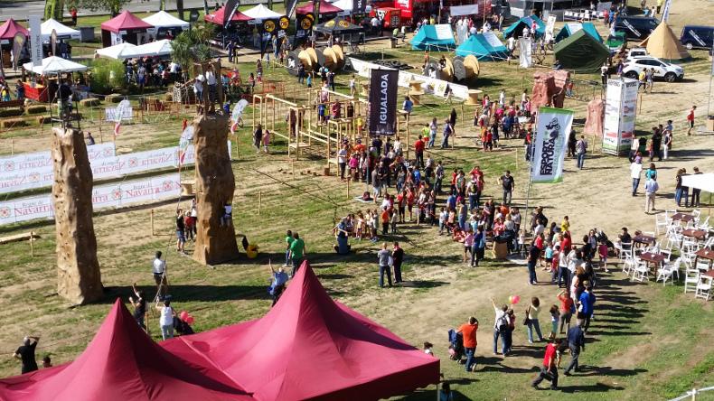 El Festival Esport i Natura debuta a Igualada amb una gran acollida per part del públic