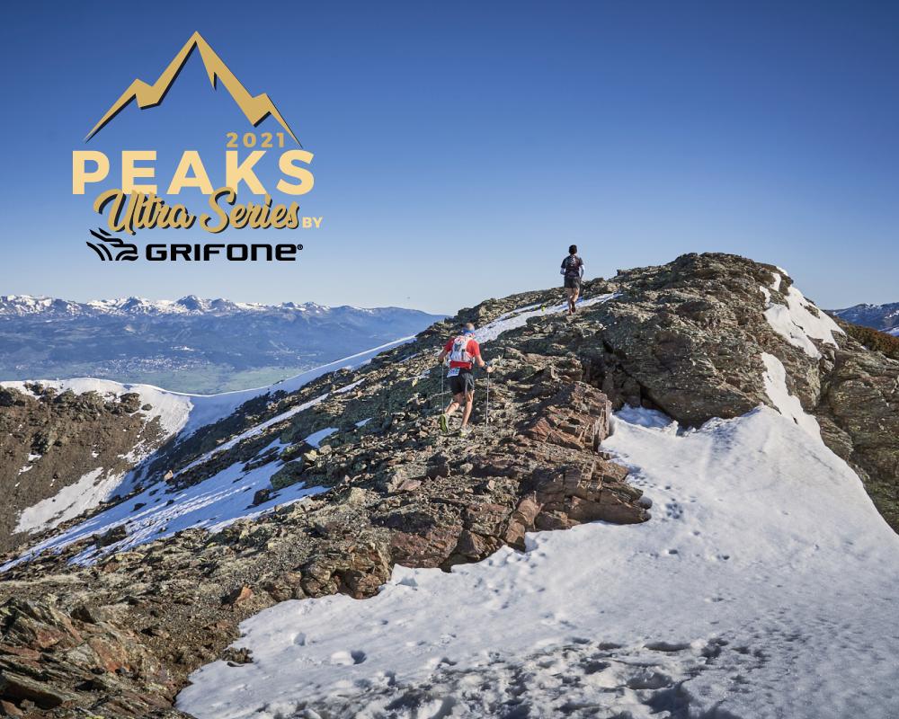 Grifone, patrocinador principal de las Peaks Ultra Series 2021