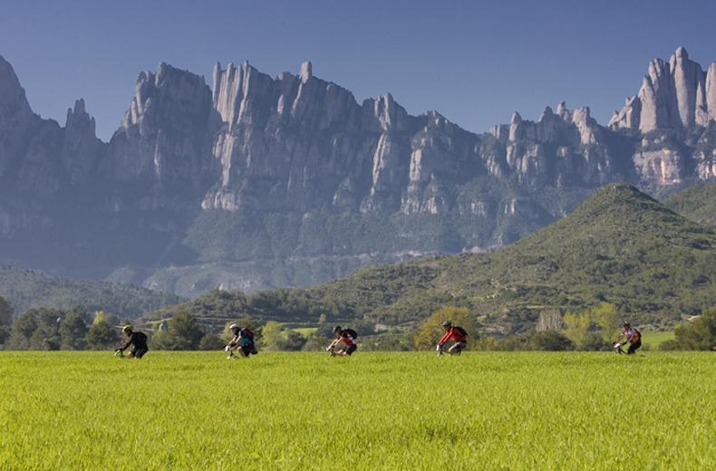 La Portals llevará a 1.500 ciclistas a dar la vuelta al parc natural de Montserrat
