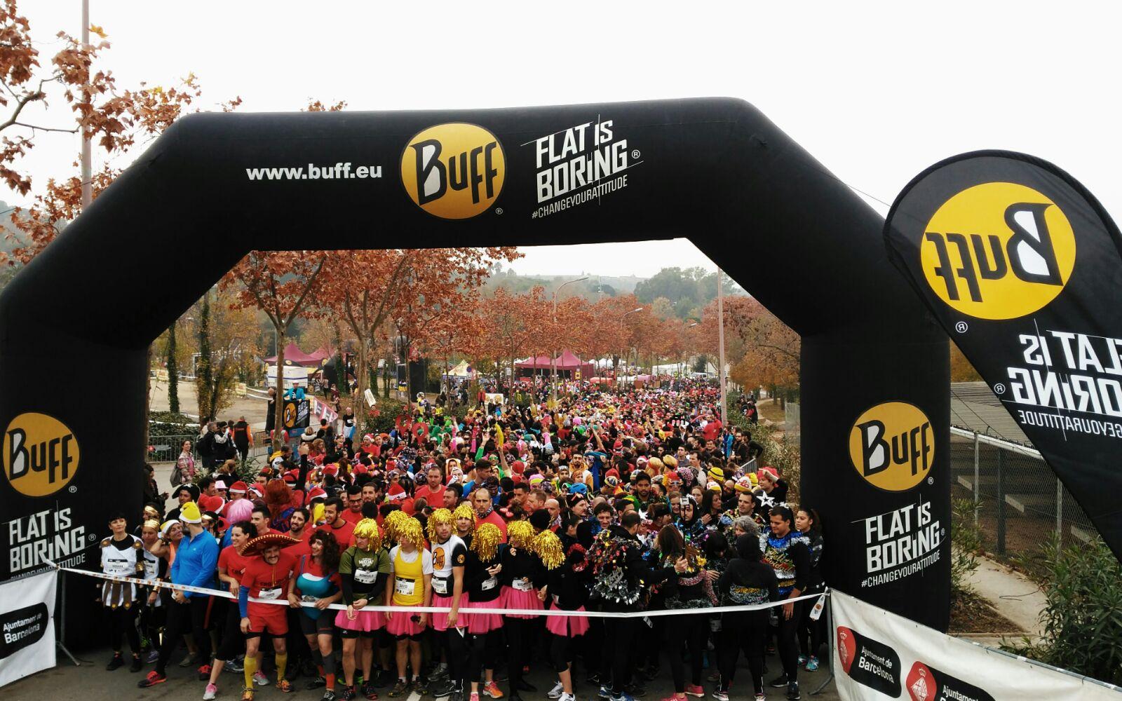 La gran festa de la Buff® Epic Run Barcelona torna a conquerir Montjuïc amb una participació rècord