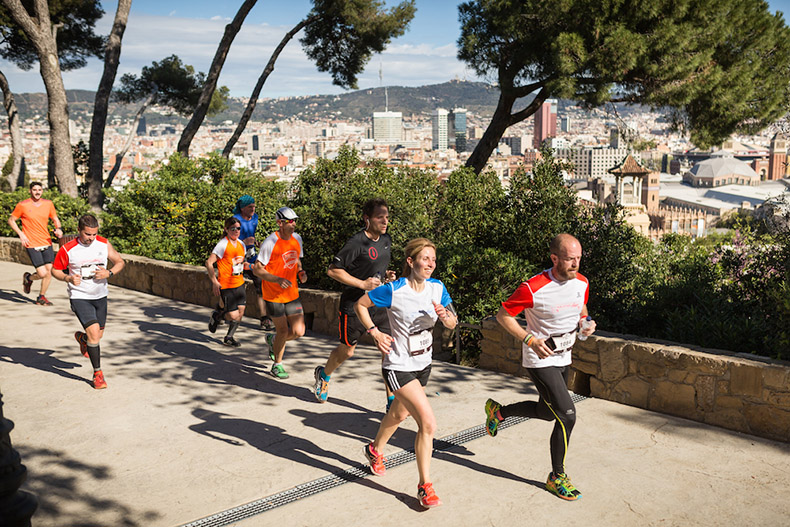 Salomon Run is back! A race full of stairs, adventure and views of Barcelona