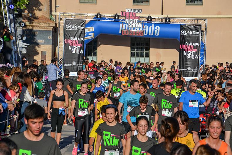 Igualada celebra la sisena edició de l'Igualada Urban Running amb més de 3.000 participants