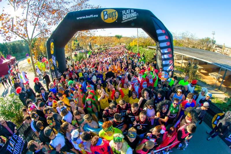 Casi 4.000 corredores disfrutar�n de los obst�culos de la Buff� Epic Run