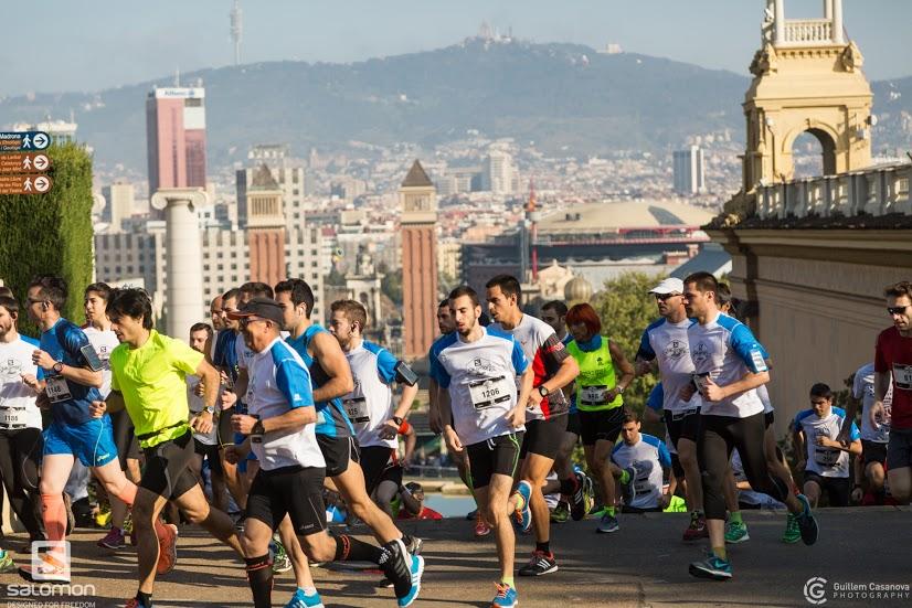 Torna la Salomon Run Barcelona, una cursa amb vistes