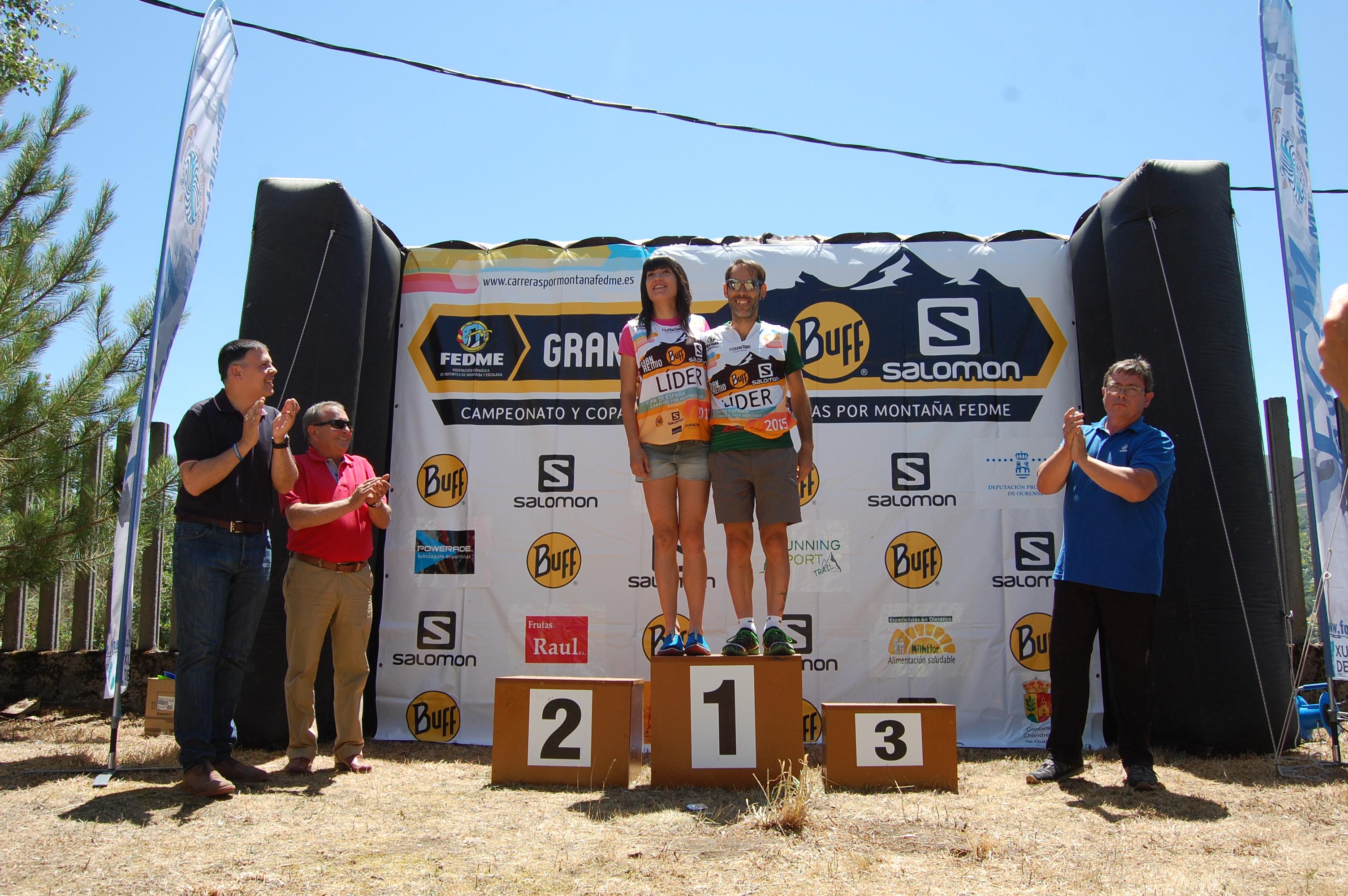 Victorias de Elpidio Gómez y Paula Cabrerizo en la Chandrexa Trail y cambio de líderes en la Copa de España de carreras por Montaña en línea