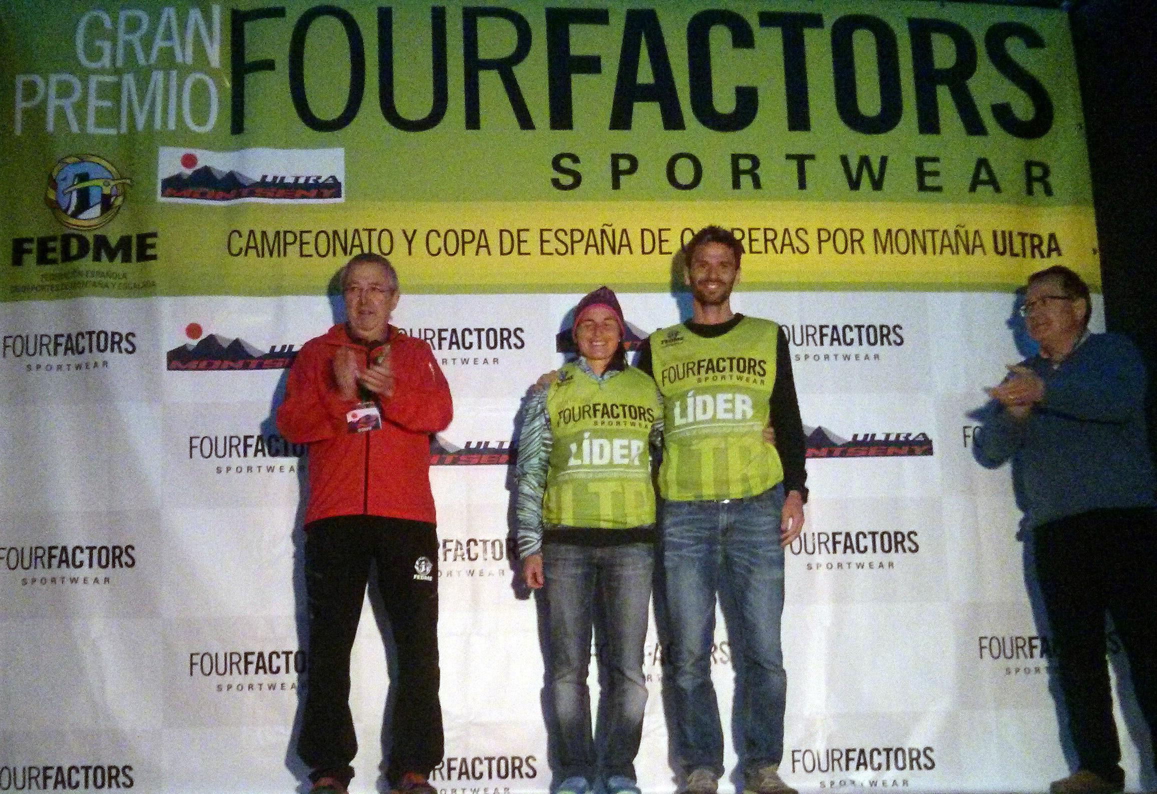 Dani Aguirre y Nuria Domínguez primeros líderes de la Copa de España de Carreras por Montaña Ultra Gran Premio Four Factors tras imponerse en Ultra Mo