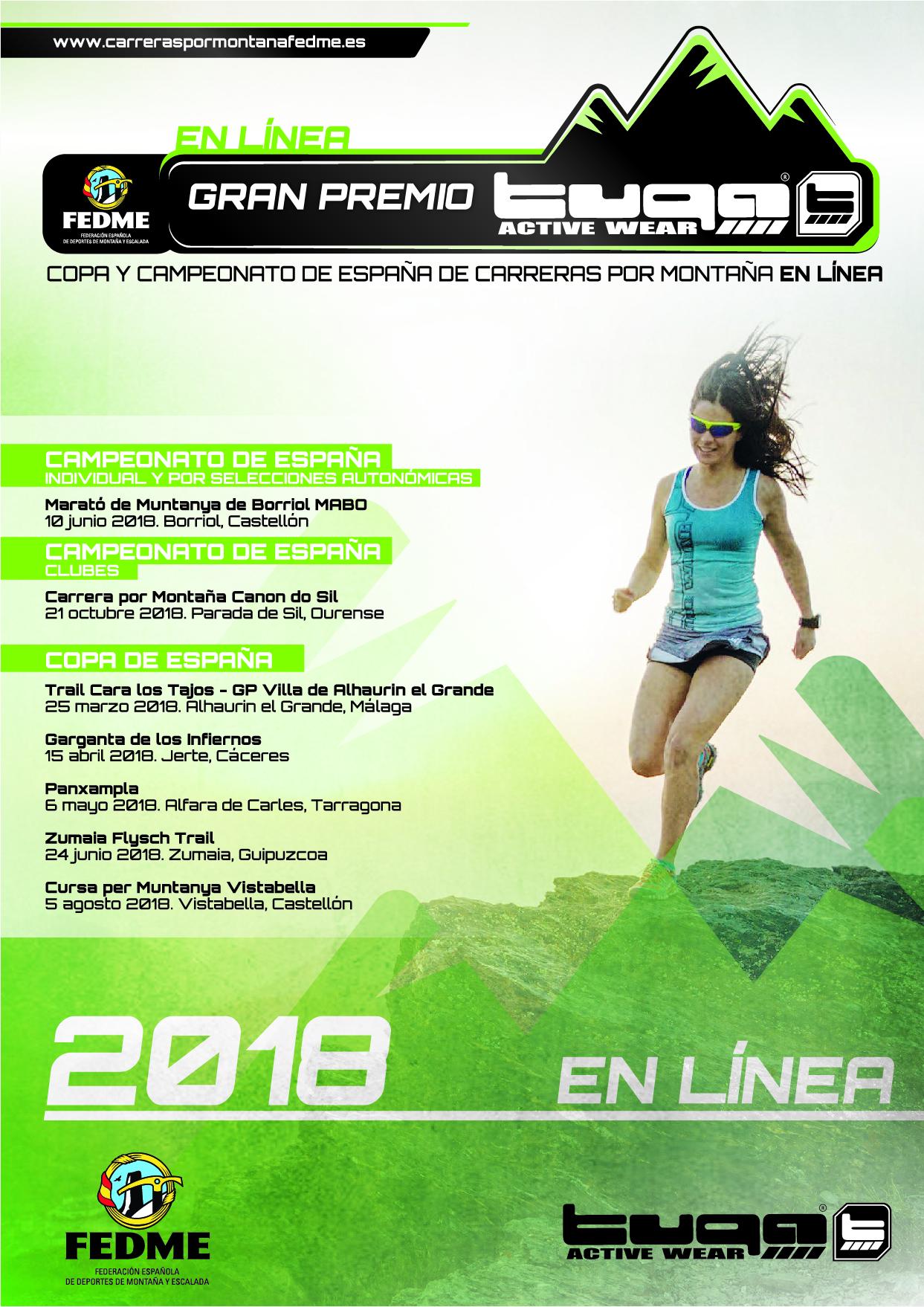 Copa y Campeonato de España en Línea Gran Premio Tuga 2018