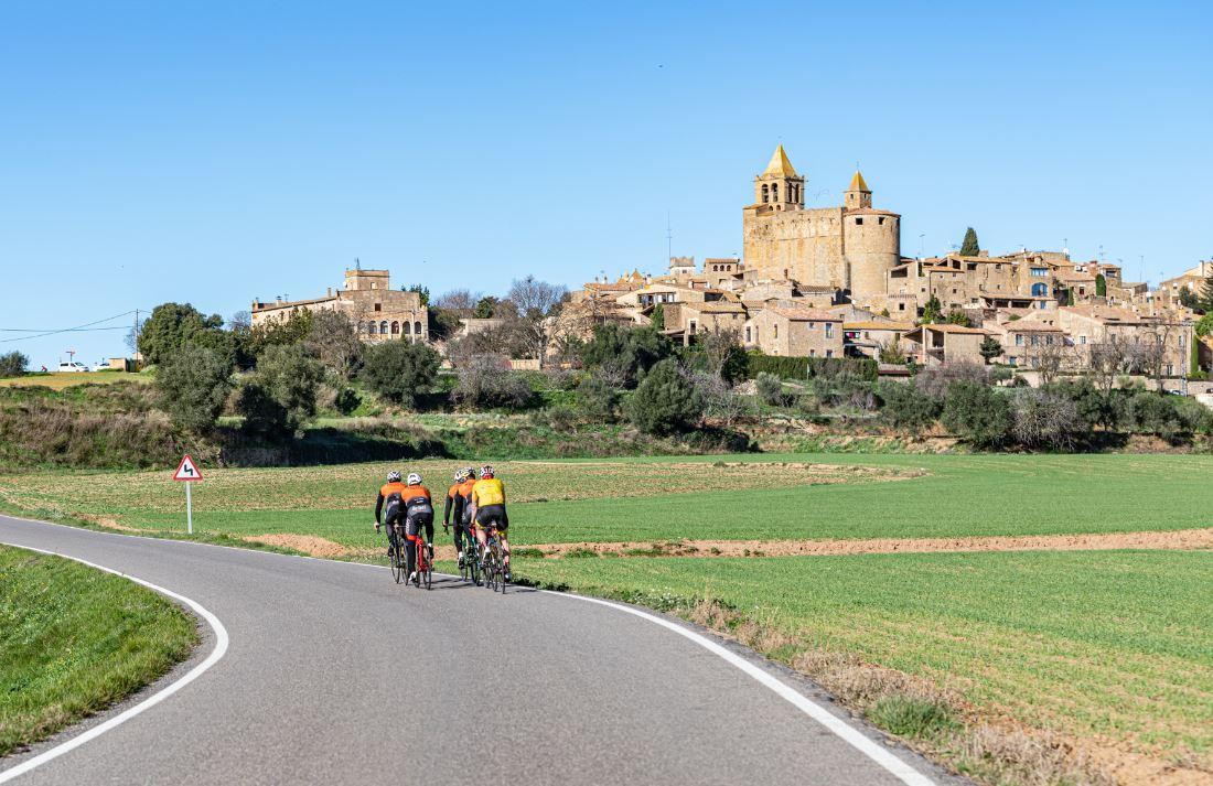 La Continental Ciclobrava alberga la esencia ciclista de Girona