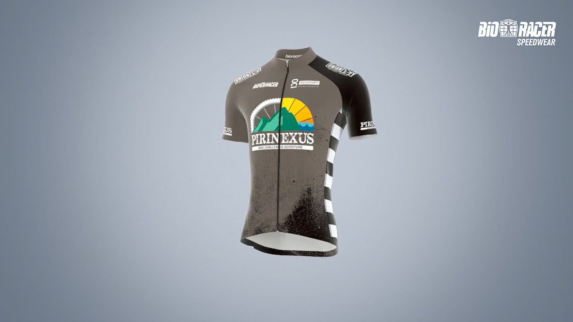 Bioracer presents the jersey of the Pirinexus Challenge