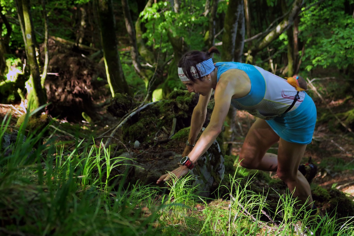 Iban Murua y Maite Maiora ganadores de Kilómetro Vertical de Zegama