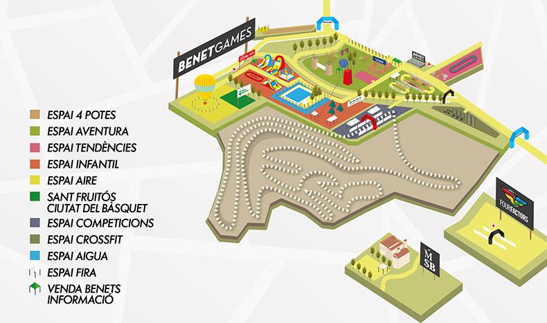Cap de setmana d'esport, natura i música als Benet Games de Sant Fruitós Bages