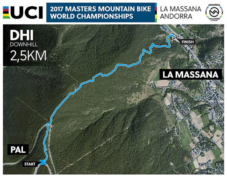 Vallnord Bike Park La Massana ser� la sede del Campeonato del Mundo M�sters UCI de XCO-DHI del 19 al 24 de junio