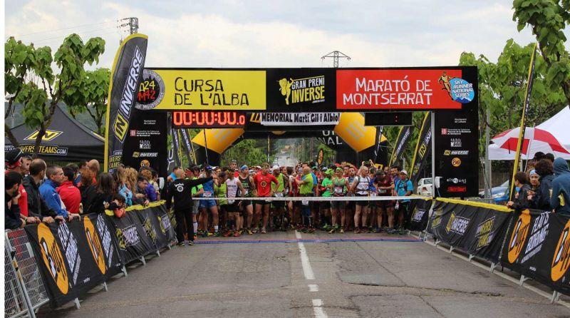 Francesc Solé y Nuria Domínguez se imponen en la 1ª Marató de Montserrat Gran Premio Inverse