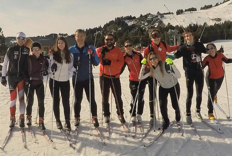 Font-Romeu acull el primer Camp de la temporada