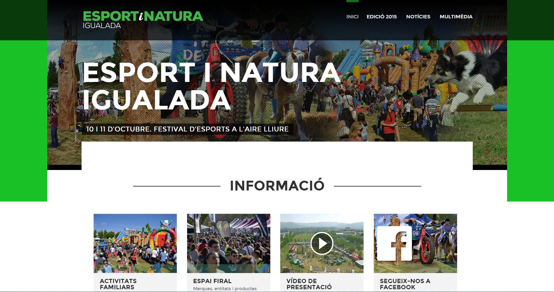 L'Esport i Natura 2015 comença a agafar forma