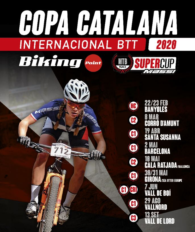 Presentado el calendario de la Copa Catalana Internacional Biking Point y de la Super Cup Massi 2020