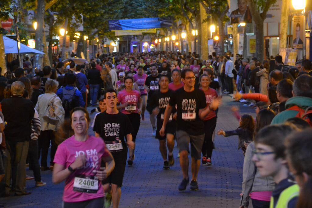 La Igualada Urban Running més animada omple els carrers d'Igualada amb més de 25.000 persones