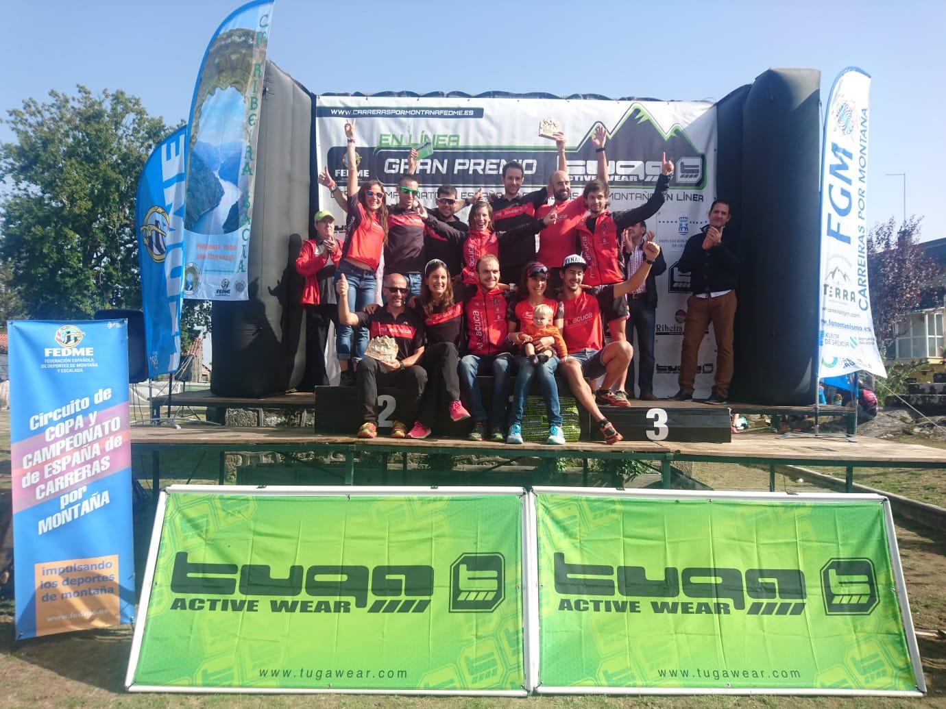 A.E MATXACUCA DOBLES CAMPIONS D'ESPAYA DE CARRERES PER MUNTANYA DE CLUBS FEDME - GRAN PREMIO TUGA