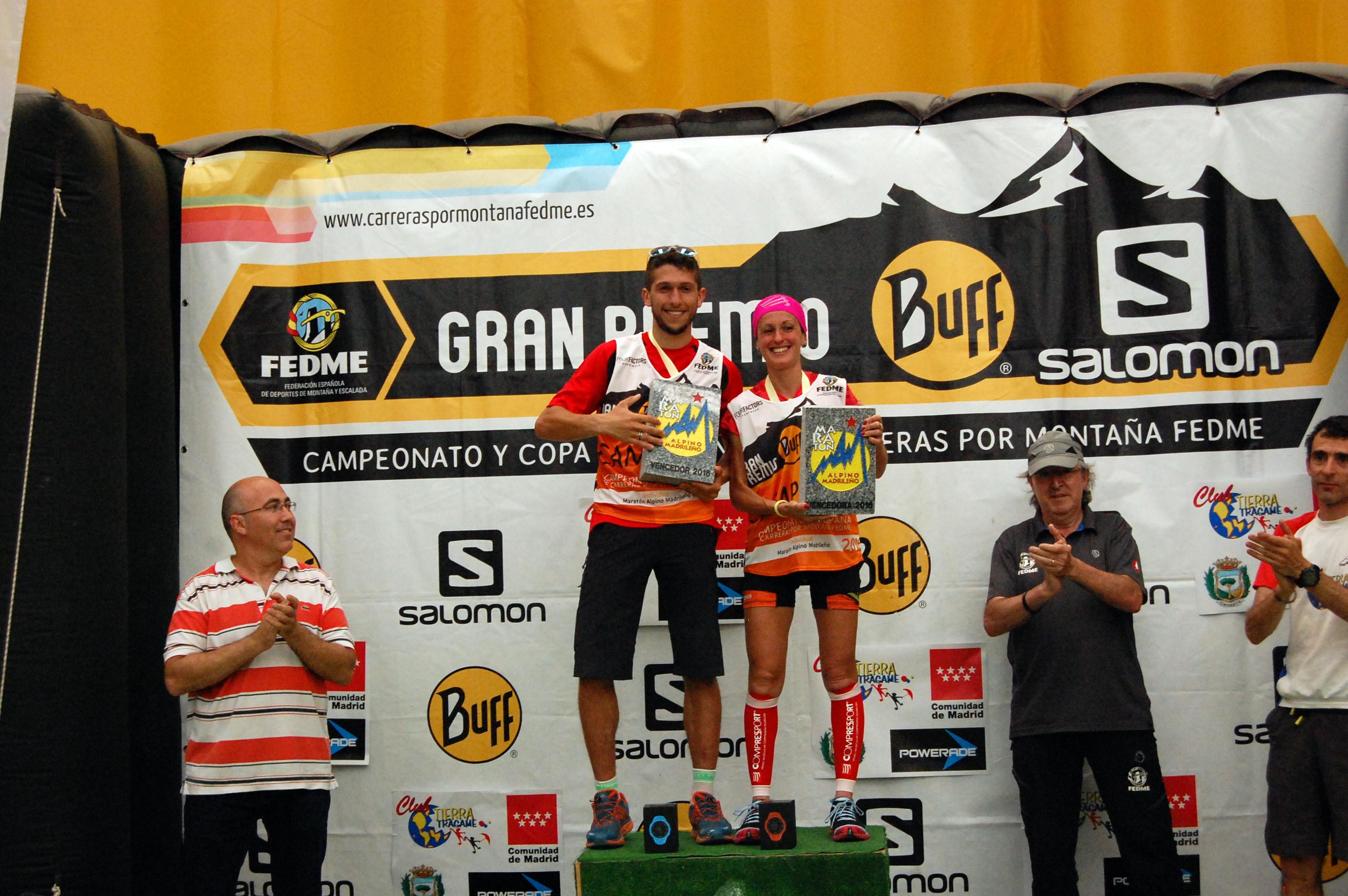 Manuel Merillas y Azara García se proclaman campeones de España de Carreras por Montaña en Línea FEDME - GP BUFF® Salomon en el Maratón Alpino Madrile