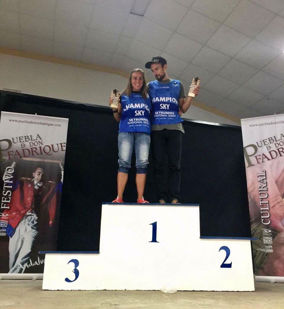 Pol Rodr�guez y Zuri�e Frutos se proclaman campeones de las Sky Series en La Sagra Skymarathon