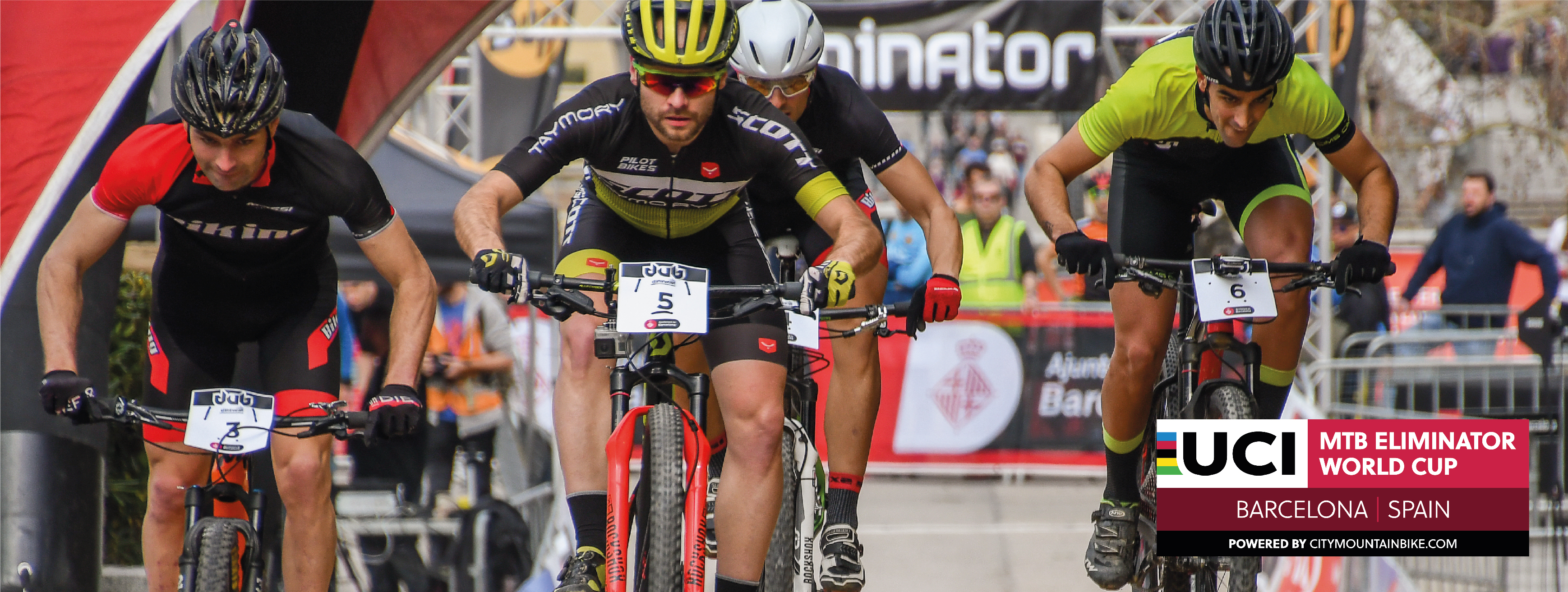 La UCI MTB Eliminator World Cup llega por primera vez a Barcelona en el marco de la Cycling Week Barcelona