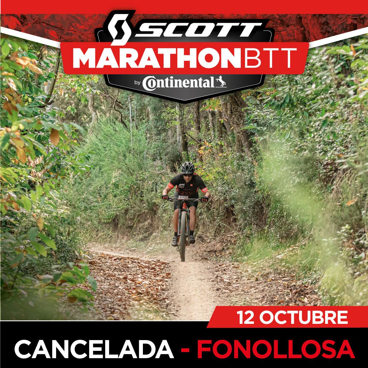 LA SCOTT MARATHON BTT BY CONTINENTAL DE FONOLLOSA SE CANCELA